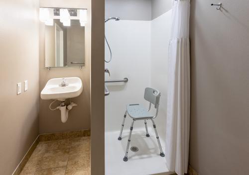 GrandStay Ames-Double Studio ADA Shower (1)